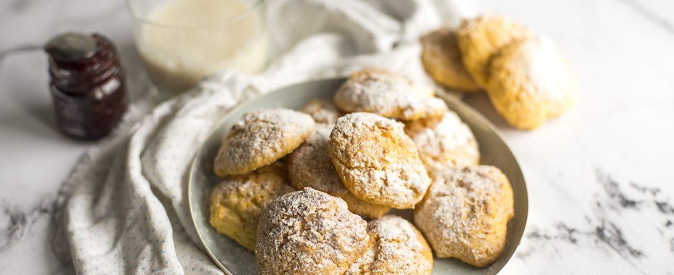 Biscotti alla zucca, semplici e friabili