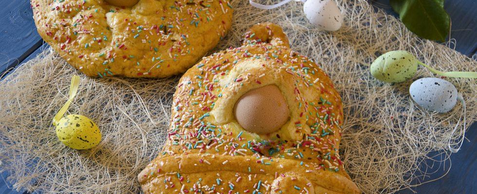 Cuddura cu l'ova, dolce per la Pasqua