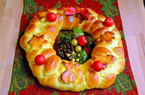 Ghirlanda dolce di Natale al bimby: la ricetta ideale per le feste