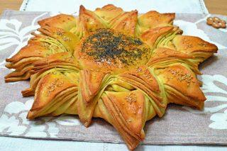 Al bimby: girasole di pane
