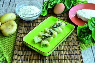 Gnocchi con ripieno di spinaci: la ricetta con il bimby