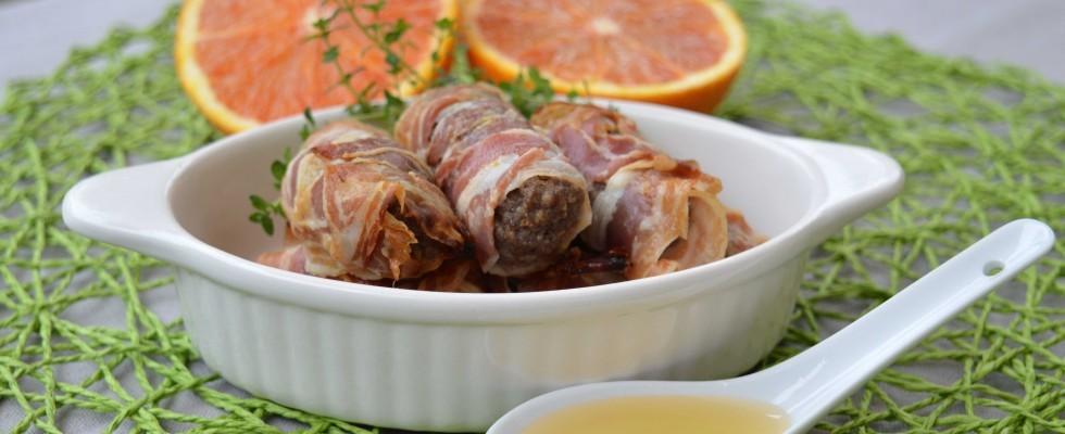 Involtini di pancetta ripieni all'egiziana: da fare con il bimby