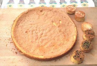 Pasta genoise: la base per torte semplice con il bimby