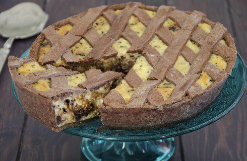 Pastiera al cioccolato, goloso dolce di Pasqua