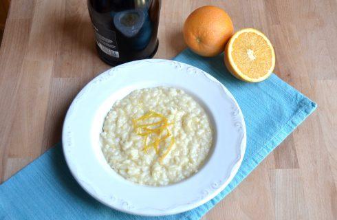 Bimby: ecco il risotto allo spumante profumato all'arancia