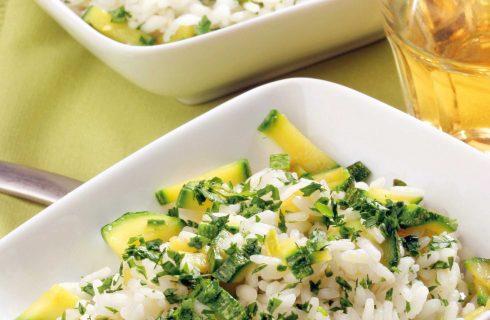 Risotto con zucchine: la variante con il bimby