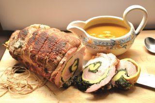 Rollè di vitello con frittata e spinaci: la versione con il bimby