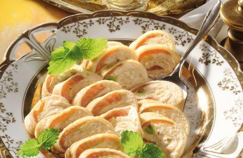 Rotolo ricotta e salmone: preparatelo con il bimby