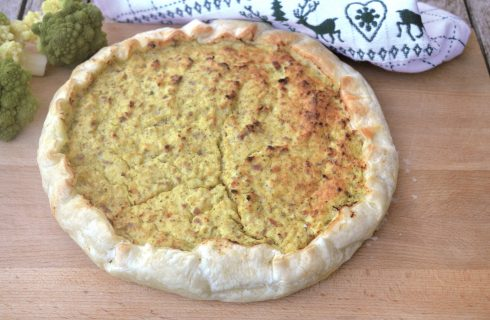 Torta rustica con i broccoli, da fare con il bimby