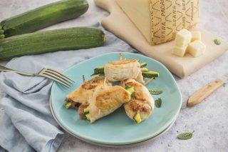 Involtini di pollo con prosciutto crudo, Grana Padano DOP Riserva