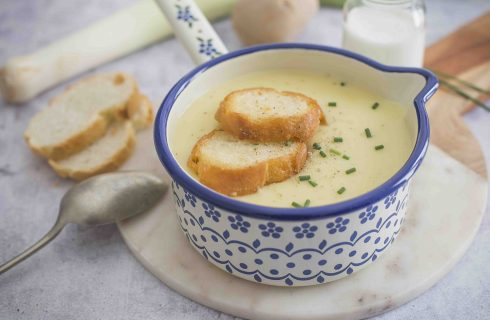 Potage parmentier, la tradizione francese a tavola