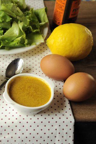 Salsa acciughe e worcester per insalata da fare con il bimby