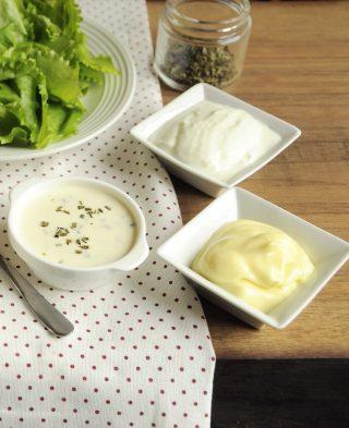 Salsa allo yogurt per insalata è facile con il bimby