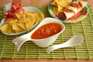 Salsa enchilada: cucina messicana con il bimby