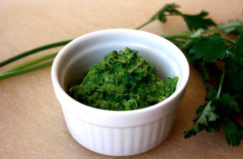 Salsa verde, si realizza con il bimby