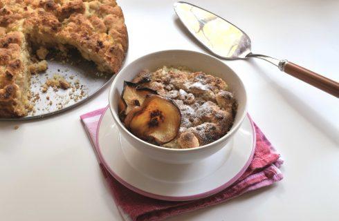 Sbriciolata con le mele, ricette autunnali con il bimby