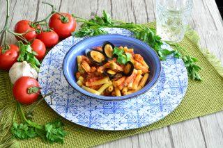 Sedani con salsa alle cozze: fatti con il bimby