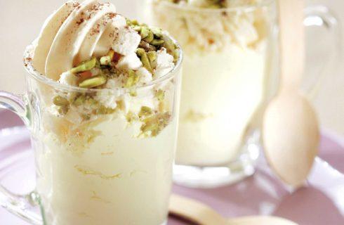Bimby: ecco il semifreddo alla vaniglia con noci e pistacchi