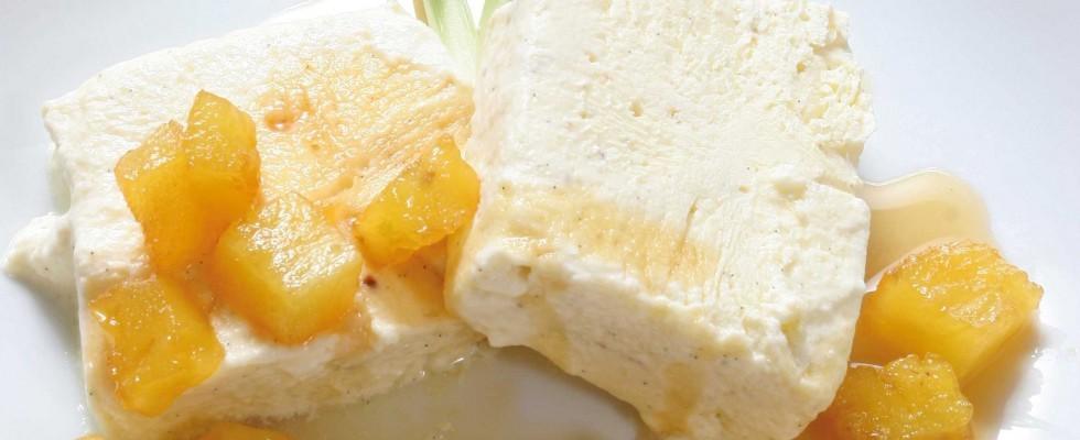 Bimby: ecco il semifreddo allo zenzero con ananas