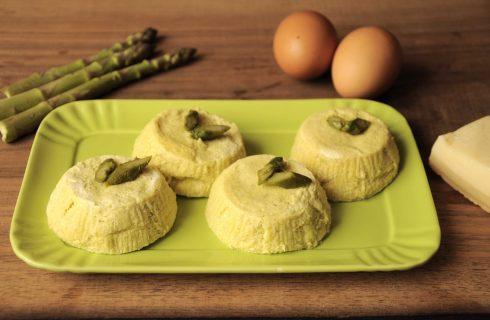 Sformati agli asparagi sono facili con il bimby