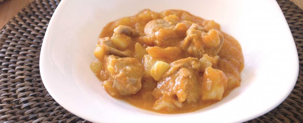Spezzatino con le patate: la variante con il bimby