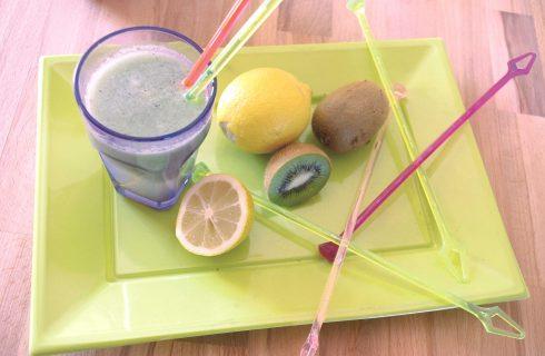 Succo di kiwi con menta come si prepara con il bimby