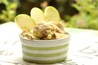 Tacchino freddo con mele: secondo perfetto da preparare con il bimby