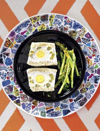 Bimby: ecco la terrina di asparagi con uova e robiola