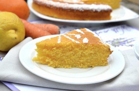 Bimby: ecco la torta arancia, limone e carota
