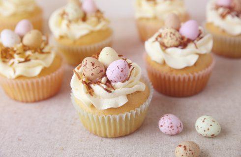 La ricetta dei cupcake vegan di Pasqua
