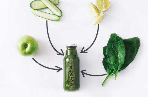 Come preparare il frullato detox di spinaci