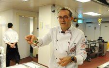 Massimo Bottura ha inaugurato il Refettorio Paris