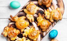 I panini coniglietto per la colazione di Pasqua dei bambini