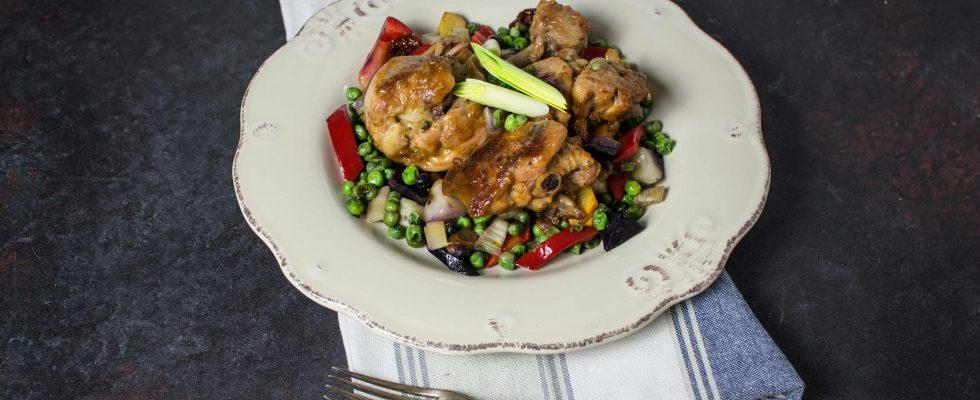 Pollo primavera: la nostra ricetta