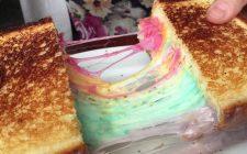 Tendenze: perché piace il rainbow toast