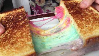 Tendenze: perché piace il rainbow toast e come farlo a casa