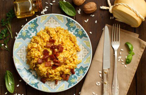 La ricetta del risotto al ciauscolo per un primo gustoso