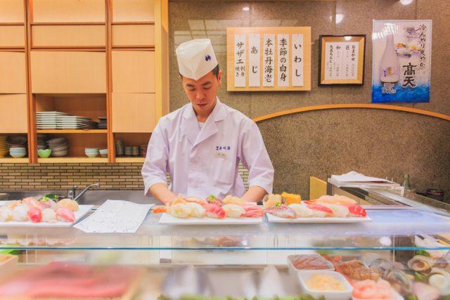 sushi a tokyo