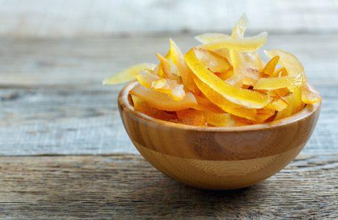 Scorzette d'arancia candite: come utilizzarle