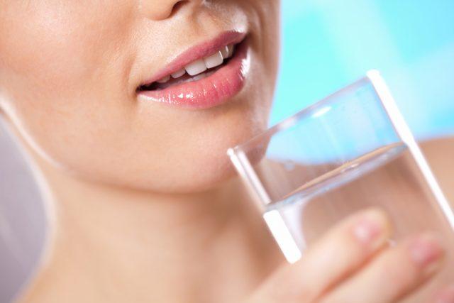 acqua e cura della pelle