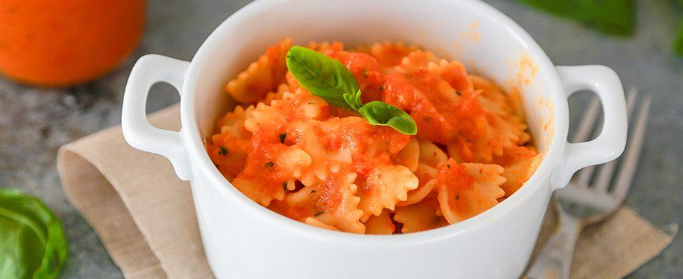 Sugo di peperoni: primi piatti estivi