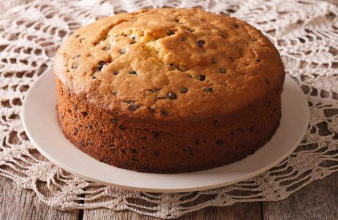 La ricetta della torta con avanzi di colomba e cioccolato