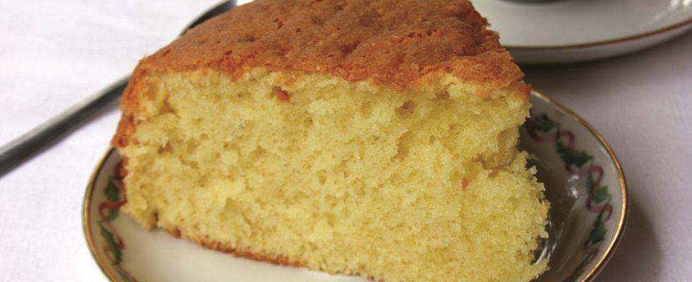 Torta Madeira: con il bimby