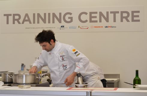 Aiuta Martino Ruggieri al Bocuse d'Or!