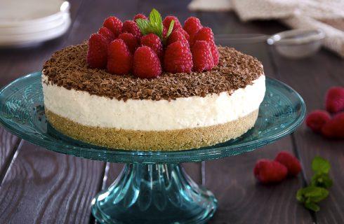 Cheesecake ricotta e lamponi: per la festa della mamma