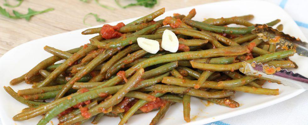 Fagiolini alla pugliese: la Puglia a tavola