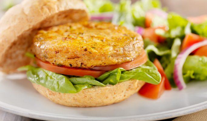 I burger di cannellini con la ricetta vegan