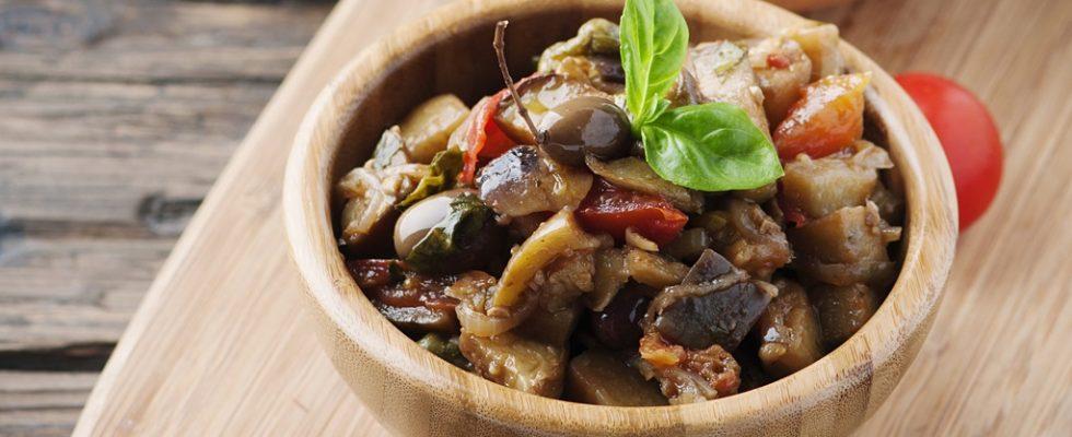 La ricetta della caponata di verdure miste