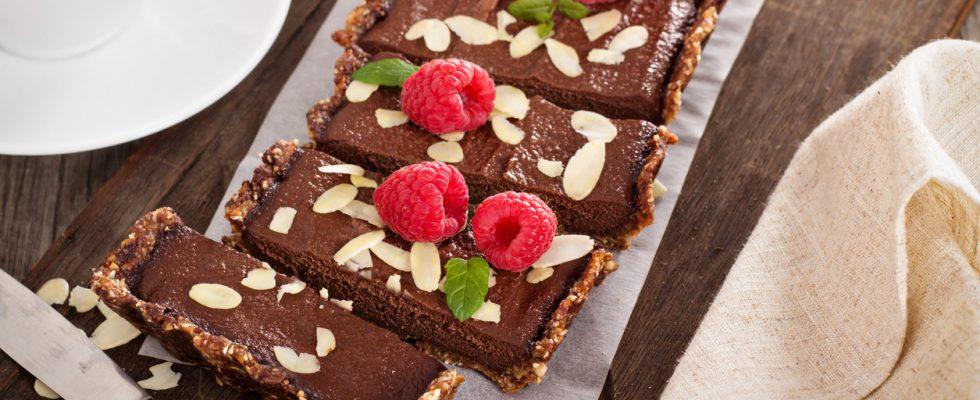 Crostata con lamponi e cioccolato, la ricetta