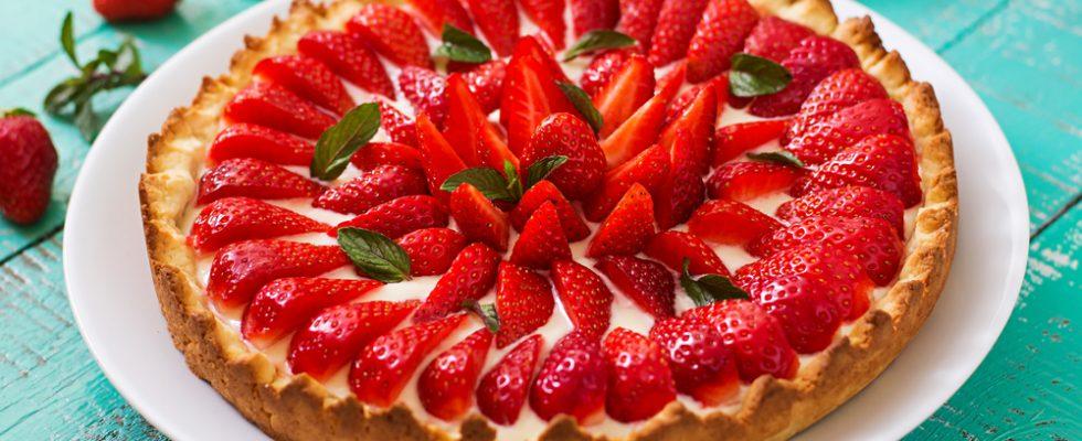 Crostata di fragole: per la primavera